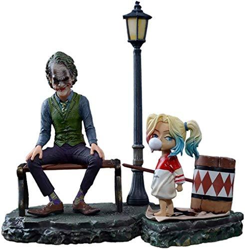 No Payaso Heath Ledger Modelo de Juguete Decoración Juguete móvil Estatuas Decoración Adornos Estatua de Resina
