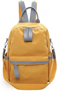 Fashion Casual Backpack Multipurpose Travel School Shoulder Bag Daypack (Color : Orange)