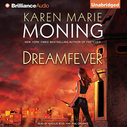 Dreamfever audiobook cover art