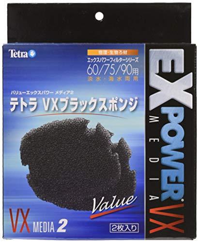 テトラ VXブラックスポンジ 60/75/90用 2枚入
