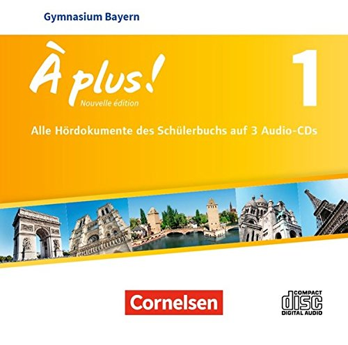 À plus ! - Nouvelle édition - Bayern: Band 1 - Audio-CDs