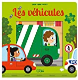 Mon livre puzzle 9 pièces: Les véhicules - Dès 2 ans