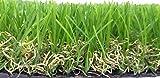 """Kunstrasen - Rasenteppich - Garten - Rasen""""Lotus"""" Florhöhe 40mm - Breite - 200cm - 4 farbig - 1 Meter fortlaufend"""