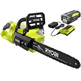 Ryobi 40V Brushless 14' Chainsaw w/Battery and Charger Included
