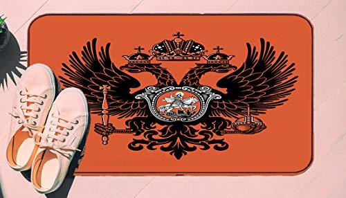 DIIRCYB Door Mat Indoor Outdoor Non-Slip Washable Doormat,Vest of The Russian Empire,DIY Cropping Rug,for Home Kitchen Bedroom Bathroom Floor Carpet19.5' X 30.5'