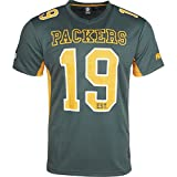 Majestic Green Bay Packers Moro Est. 21 Mesh Jersey NFL T-Shirt L