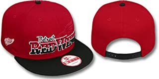 Detroit Red Wings Red/Black Adjustable Snapback Hat/Cap