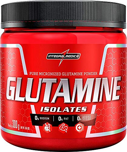 Glutamine Powder - 300g - IntegralMédica - Sem sabor