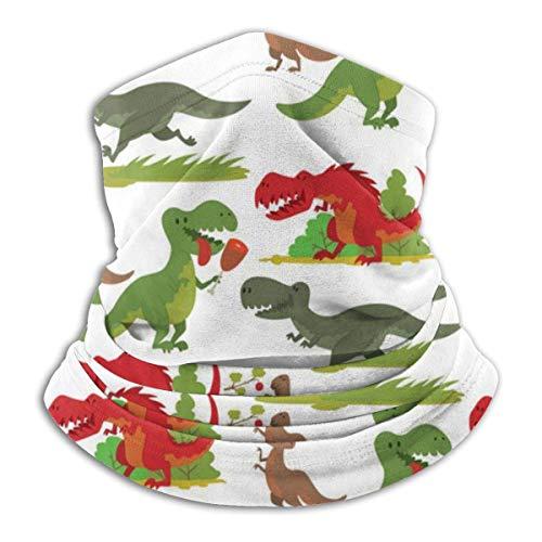 Multifunktionstuch / Schlauchtuch / Halstuch,Multifunctional Headwear Neck Gaiter Dinosaurs Dino Rex 3D Dust Mask Sun UV Dust Wind Proof for Outdoor Camping, Running, Motorcycling, Fishing, Hunting