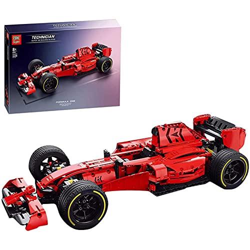 Technic Macchina da Corsa Set di Costruzioni F1, Modello di Auto da Collezione, 1138 Parti Giocattolo da Costruzione Compatibile con Lego Technic Static,50 * 12 * 21.5