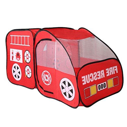 Cobeky Kids Indoor Outdoor Tent Garden Game House Gift - Fire Truck