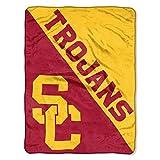 The Northwest Company USC Trojans 'Halftone' Micro Raschel Throw Blanket, 46' x 60' , Red