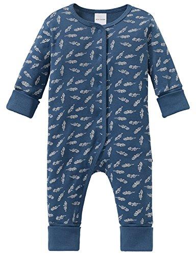 Schiesser Schiesser Baby-Jungen Grand Prix Anzug mit Vario Zweiteiliger Schlafanzug, Blau (Blau 800), 56