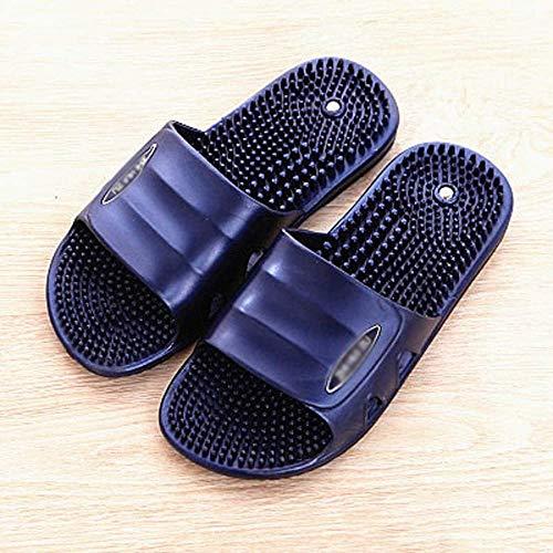 Flip Flop Paar Massage Hausschuhe männlich Version Modelle Magnetic acupoint Foot reflexologie Schuhe dusche Badezimmer Badezimmer Sommer hoor sandal-42_EIN Baifantastic