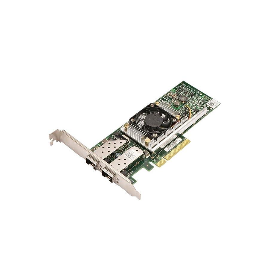 欠席ストラップ施設Dell U810N デュアルポート DA2 10GB SFP+ ネットワークインターフェースカード NIC (認定リファービッシュ品)