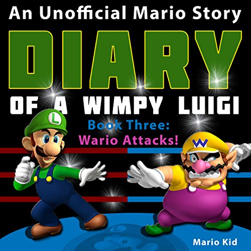 Diary of Wimpy Luigi: Wario Attacks Titelbild