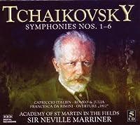 Symphonies 1-6 by Tchaikovsky