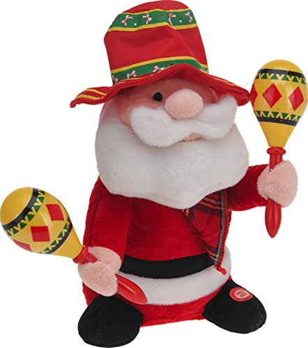 CHICCIE Père Noël de 30 cm – Mexique – Figurine de Noël