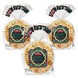 Toufayan Bakery, Whole Wheat Tandoori Indian Flatbread, All Natural, Non-GMO (Whole Wheat, 3 Pack)