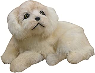 Anniston Kids Toys, Puppy Simulation Doll Toy Mini Pekingese Dog Ornament Home Car Office Decor Dolls & Stuffed Toys Perfe...