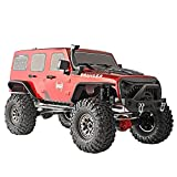 RGT Rc Crawler 1:10 Scale 4wd 313mm Wheelbase RC Rock Cruiser Crawler RTR 4x4 Waterproof RC Car Off Road Monster Truck EX86100P