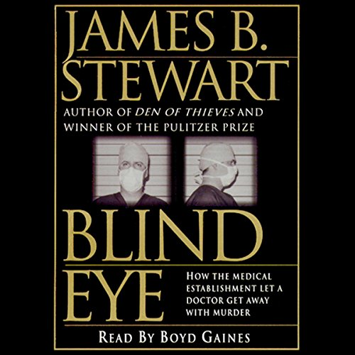 Blind Eye audiobook cover art