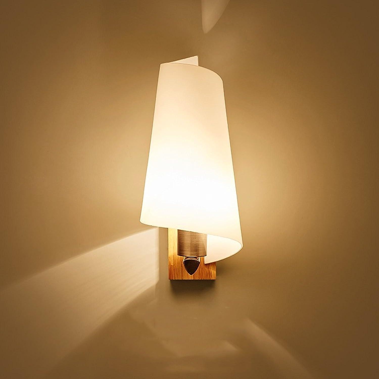 Rishx Moderne Einfachheit Holz Gang Flur Lichter Wandleuchte Europischen Holz Wandleuchte Kreative Glaskugel Wohnzimmer Schlafzimmer