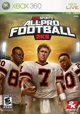 All Pro Football 2K8 - Xbox 360 (Renewed) from 2K