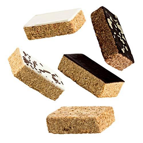 Supplify Oat Cake Energieriegel (Mix Box) - Energy Haferriegel zum Muskelaufbau oder Abnehmen - leckerer als Protein-Riegel & -Pulver (24x125g)