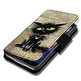 sw-mobile-shop Book Style Flip Handy Tasche Case Schutz Hülle Schale Motiv Etui für Wiko Ridge Fab 4G - Flip 1A40 Design9