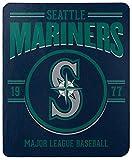 Northwest Company Seattle Mariners Southpaw Fleece Throw Blanket, Multicolor, 50'' x 60''' (1MLB031030025RET)