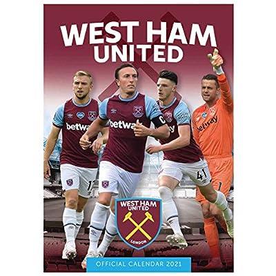 Official West Ham United 2021 Soccer Calendar (A3)