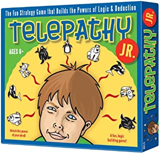 Telepathy Jr. Award-Winning Game of Strategy and Reasoning for Kids