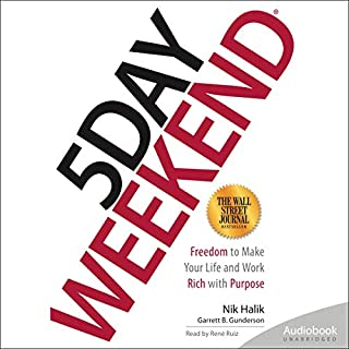 5 Day Weekend audiobook cover art