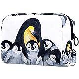 Regalo del día de la Madre Estuche de Viaje cosmético, Estuche de Maquillaje, Estuche de Maquillaje, Regalo de cumpleaños, Pingüinos Animales