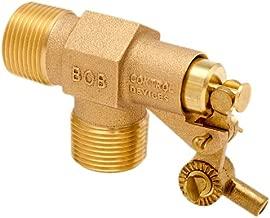 Robert Manufacturing R400 Series Bob Red Brass Float Valve, 3/4
