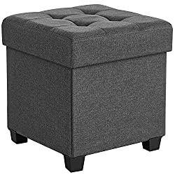 Storage Ottoman with Feet