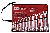KS Tools 517.0123 CLASSIC Doppel-Maulschlüssel-Satz