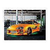 LaMAGLIERIA Poster Toyota Supra - Posterdruck glänzend