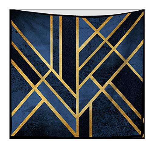 JTGTQ Tapijt, minimalistisch geometrisch tapijt, wandtapijt, abstract, grote rechthoekig, polyester, Boho Decor Home muurdoek, wandtapijt, yoga-tapijt