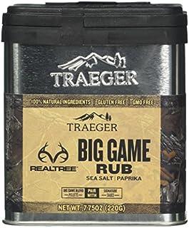 Traeger Grills SPC180 Real Tree Big Game Dry Rub