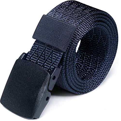 Big Save! CQR Webbing Tactical Belt EDC 1.5 inches Plastic Lightweight Heavy Duty, Unique(mzt02) - N...
