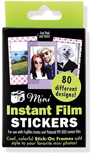 Mini Instant Film Photo Frames: For Use with Fujifilm Instax and Polaroid PIF-300 Instant Film