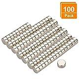Willingood Neodym-Super-Magnete Würfel 6 x 3 mm [100 Stücke] Sehr Starke Magnete für...