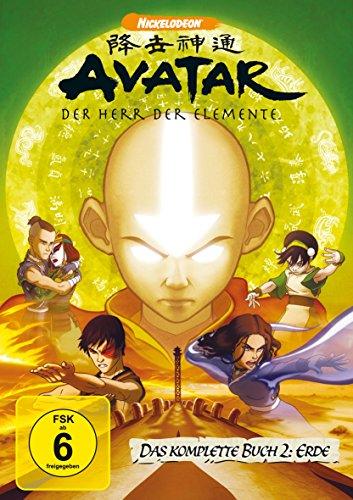 Avatar - Der Herr der Elemente, Das komplette Buch 2: Erde [4 DVDs]