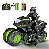 RC Motorcycle Remote Control Motorcycles,High Speed Rc Car Remote Control Car,2.4Ghz 360¡ã Rotating Drift Stunt Car Motorbike for Kids Age 4,5,6,7,8 and Up Year Old