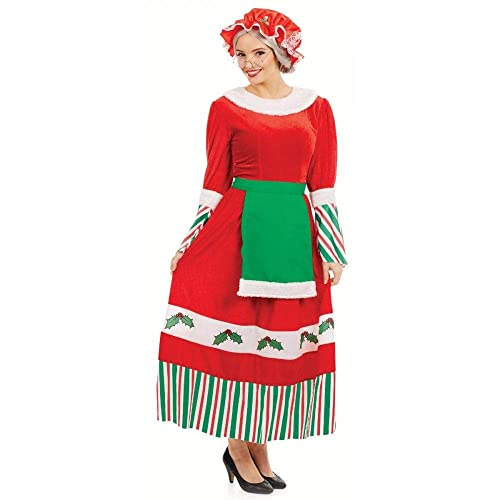 695422a9b Traditional Mrs Claus Christmas Costume