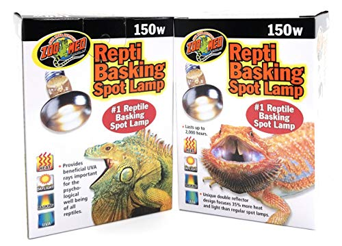 Zoo Med Repti Basking Spot Lamp Replacement Bulb 150 Watts - Pack of