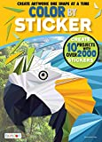 Bendon 44093 Animals Advanced Color by Sticker Book, Multicolor