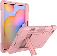 FanTing for Huawei MediaPad M6 Turbo 8.4 case,With bracket,all-inclusive design, three-layer ultra-thin shock-proof and durable Protective Case for Huawei MediaPad M6 Turbo 8.4-Rose Gold